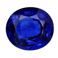 Sapphire-Oval: 2.03ct