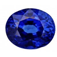 Sapphire-Oval: 3.06ct