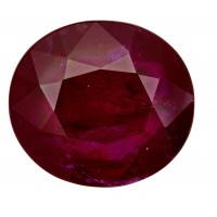 Ruby-Oval: 5.04ct