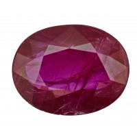 Ruby-Oval: 3ct