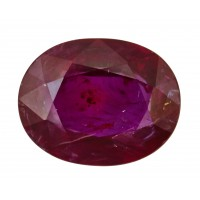 Ruby-Oval: 3.07ct