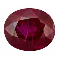 Ruby-Oval: 3.21ct