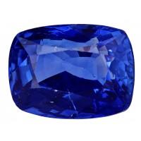 Sapphire-Cushion: 3ct
