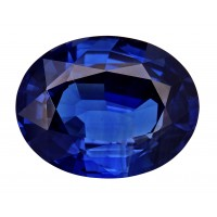 Sapphire-Oval: 5.43ct
