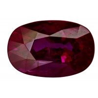 Ruby-Oval: 5.16ct