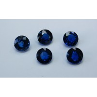 Sapphire-Round: 8.0mm