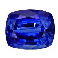 Sapphire-Cushion: 4.11ct