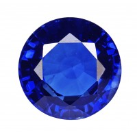 Sapphire-Round: 2.61ct