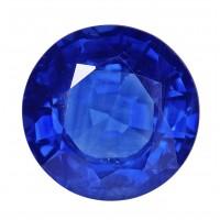 Sapphire-Round: 3.34ct