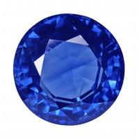 Sapphire-Round: 3.69ct