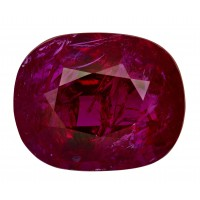 Ruby-Oval: 5.06ct