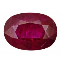 Ruby-Oval: 5.22ct