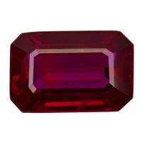 Ruby-Octagon: 3.02ct