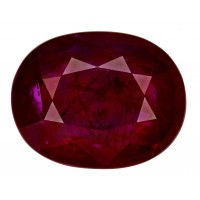 Ruby-Oval: 8.01ct