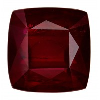 Ruby-Cushion: 4.2ct