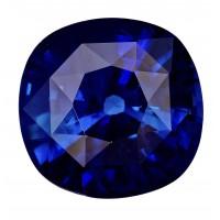 Sapphire-Cushion: 3.58ct