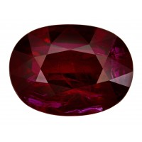 Ruby-Oval: 7.06ct