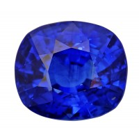 Sapphire-Cushion: 4.49ct