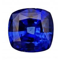 Sapphire-Cushion: 4.38ct