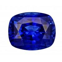 Sapphire-Cushion: 3.82ct