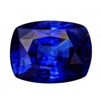 Sapphire-Cushion: 3.71ct