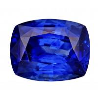 Sapphire-Cushion: 3.79ct