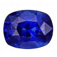 Sapphire-Cushion: 5.08ct