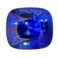 Sapphire-Cushion: 3.99ct