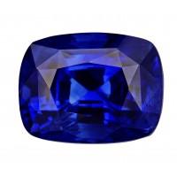 Sapphire-Cushion: 4.76ct