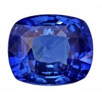 Sapphire-Cushion: 4.15ct