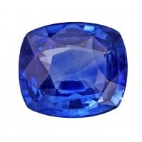 Sapphire-Cushion: 3.17ct