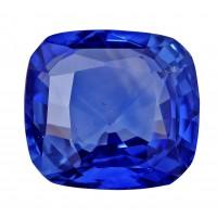 Sapphire-Cushion: 3.56ct