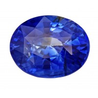 Sapphire-Oval: 4.22ct