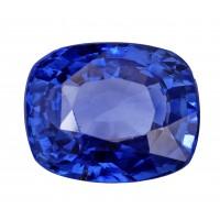 Sapphire-Cushion: 4.06ct