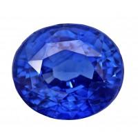 Sapphire-Oval: 4ct