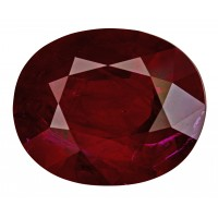 Ruby-Oval: 4.73ct