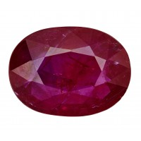 Ruby-Oval: 2.36ct