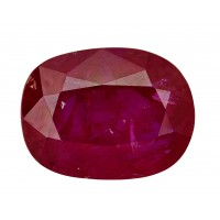 Ruby-Oval: 3.28ct