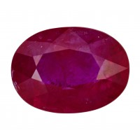 Ruby-Oval: 2.18ct