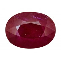 Ruby-Oval: 2.34ct