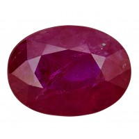 Ruby-Oval: 2.33ct