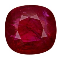Ruby-Cushion: 6.05ct