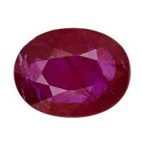 Ruby-Oval: 1.95ct