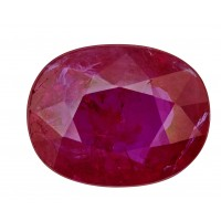 Ruby-Oval: 2.28ct