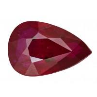 Ruby-Pear: 1.49ct