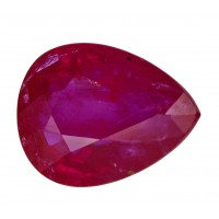 Ruby-Pear: 2.25ct