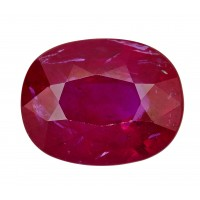 Ruby-Oval: 2.52ct