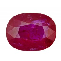 Ruby-Oval: 3.25ct