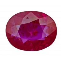 Ruby-Oval: 3.03ct