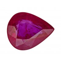 Ruby-Pear: 3.04ct